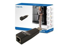 Adapteris Logilink USB 2.0  to Fast Ethernet adapter
