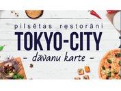 Tokyo City dāvanu karte 15.00 EUR vērtībā