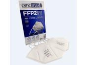 Respirators, bez vārsta, FFP2, CE Sertificēts, balts, 2gab/iepak.