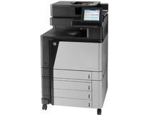 Lāzerdrukas krāsains daudzfunkciju printeris HP Enterprise Flow M880Z, mazlietots