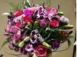 Ziedu pušķis, no Orhidejām un dažādiem ziediem